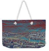 Urban Evening Weekender Tote Bag