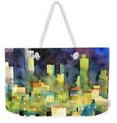 urban landscape 11 - le torri di San Gimignano Weekender Tote Bag