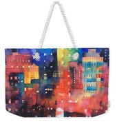 urban landscape 8 - Shadows and lights Weekender Tote Bag