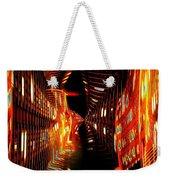 Urban Nightlights Weekender Tote Bag