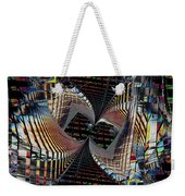 Urban Twist And Tango Weekender Tote Bag