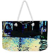 Urban Waterfall Weekender Tote Bag