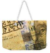 Us 100 Dollar Bill Security Features, 6 Weekender Tote Bag