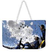 U.s. Air Force Academy Graduates Throw Weekender Tote Bag by Stocktrek Images