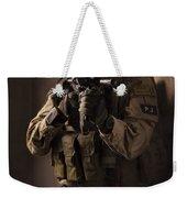 U.s. Air Force Csar Parajumper Armed Weekender Tote Bag by Tom Weber