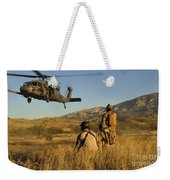 U.s. Air Force Pararescuemen Signal Weekender Tote Bag