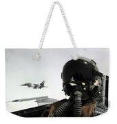 U.s. Air Force Pilot Takes Weekender Tote Bag