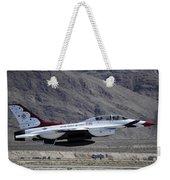 U.s. Air Force Thunderbird F-16 Weekender Tote Bag