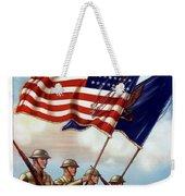 Us Army -- Guardian Of The Colors Weekender Tote Bag