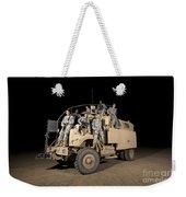 U.s. Army Medical Personnel Pose Weekender Tote Bag