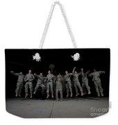 U.s. Army Pilots & Crew Chiefs Jump Weekender Tote Bag