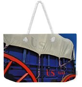 U S Army Supply Wagon Weekender Tote Bag