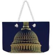 U.s. Capitol At Night Weekender Tote Bag