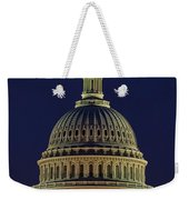 U.s. Capitol At Night Weekender Tote Bag