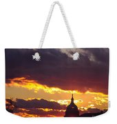 U.s. Capitol Dome At Sunset Weekender Tote Bag