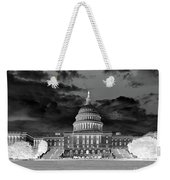 Us Capitol Washington Dc Negative Weekender Tote Bag