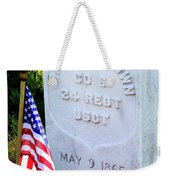 Us Colored Troops Weekender Tote Bag