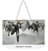 Us Marine Corps - First To Fight  Weekender Tote Bag