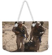 U.s. Marines Prepare To Board A Uh-60 Weekender Tote Bag