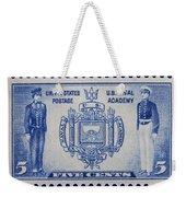 Us Naval Academy Postage Stamp Weekender Tote Bag