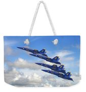 Us Navy - Blue Angels Weekender Tote Bag