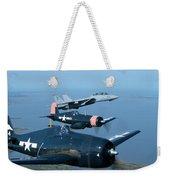 Us Navy Lagacy Flight  Weekender Tote Bag