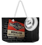 Us Route 66 Briggs And Stratton Signage Sc Weekender Tote Bag