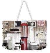 Us Route 66 Smaterjax Dwight Il Gas Pump 01 Pa 01 Weekender Tote Bag