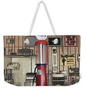 Us Route 66 Smaterjax Dwight Il Gas Pump 01 Pa 02 Weekender Tote Bag