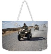 U.s. Soldiers Perform Maneuvers Weekender Tote Bag
