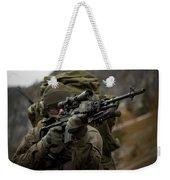 U.s. Special Forces Soldier Armed Weekender Tote Bag