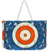 Usa Flag Abstract Weekender Tote Bag