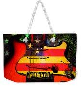 Usa Guitar Music Weekender Tote Bag