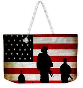 Usa Military Weekender Tote Bag