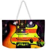 Usa Strat Guitar Music Weekender Tote Bag