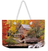 Usa, West Virginia, Glade Creek Grist Weekender Tote Bag