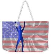 Usa Winner Background Weekender Tote Bag