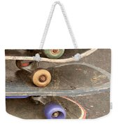 Used Skateboards Weekender Tote Bag