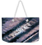 Ushuaia Ar - Ocean Ripples 1 Weekender Tote Bag