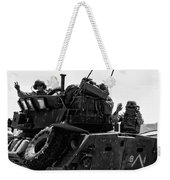 Usmc On The Move In A Lav-25 Weekender Tote Bag