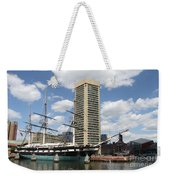 Uss Constellation - Baltimore Inner Harbor Weekender Tote Bag
