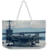Uss George Washington Weekender Tote Bag