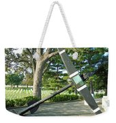 Uss Maine Anchor Weekender Tote Bag