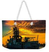 U.s.s. Silversides Sunset Weekender Tote Bag
