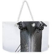 Uss Wisconsin - Head-on Weekender Tote Bag