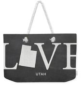 Ut Love Weekender Tote Bag by Nancy Ingersoll