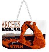 Utah, Arches, National Park Weekender Tote Bag