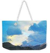 Utah Mountains Weekender Tote Bag