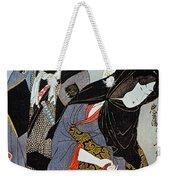 Utamaro: Lovers, 1797 Weekender Tote Bag