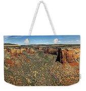 Ute Canyon Panorama Weekender Tote Bag